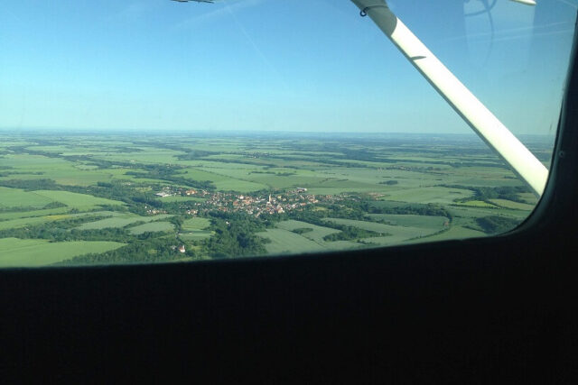 Take a private helicopter flight from Prague and see the countryside.